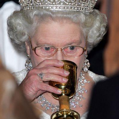 Queen Elizabeth during a visit to Malta.