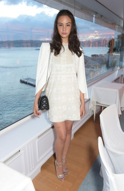 <p>In an all-white palette for the Annual Filmmakers Dinner and Photographic Exhbition in Cannes, May 2015.</p>