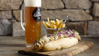 <strong>FREE HOTDOGS AT MELBOURNE'S NEW BAVARIAN BIER CAFE:</strong>