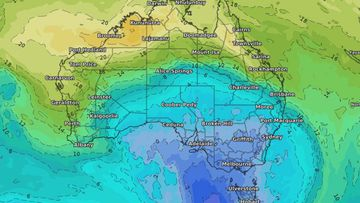 "Australians have been told to bring out their winter woollies early as an ""unusual"" cold front will slam into south-east Australian next week - bringing freezing temperatures, snow and rain."
