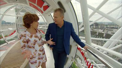 Kathy and David check out the iconic London Eye for a birds eye view of this wonderful city on Getaway.