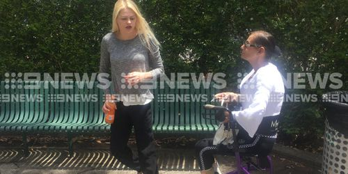 Bianca Harrington has apologised to her victim's family outside Gosford courthouse.