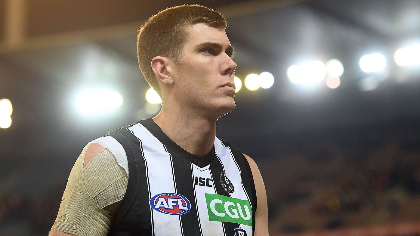 Collingwood big man Mason Cox ruled out of finals after torn retina requires surgery