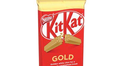 Nestle makes KitKat GOLD a permanent flavour