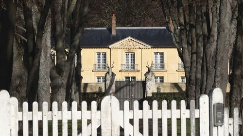 La Lanterne, a presidential residence in Versailles, outside Paris, is pictured Friday, Dec. 18, 2020 in Paris