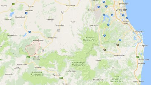 Stormy conditions hit the state's south-east during the weekend. (Google Maps)