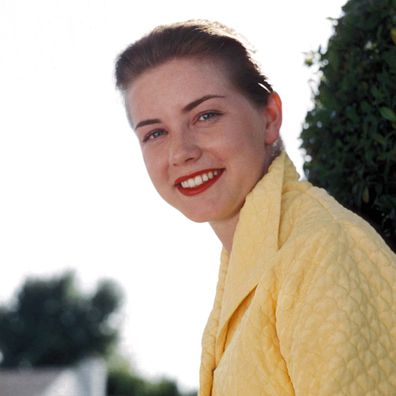 Actress Dolores Hart poses for a portrait in 1959.