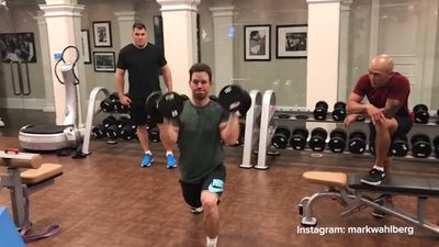 Mark Wahlberg revealed his full-on workout schedule. Do not copy it