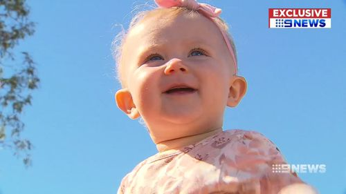 Violet Duffield was only two weeks away from having her vaccination when she fell ill.