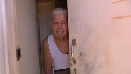 Mr Hughes, who was left with a large gash to his head, ran to a neighbour's house covered in blood. (9NEWS)