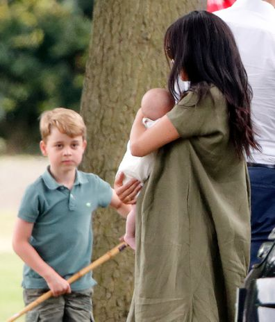 Rumours of a 'royal rift' between the Sussex and Cambridge families have been put to rest.