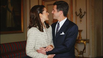Mary Donaldson and Prince Frederick's engagement is announced, October 2003
