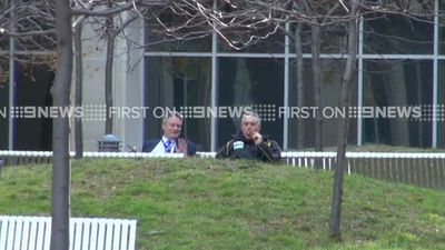 And who could forget this infamous shot of Mr Hockey and Finance Minister Mathias Cormann taking a relaxed approach to pre-Budget preparations by enjoying a cigar outside the Treasury. Captured by a 9NEWS camera on May 9, 2014, the image obviously went viral.