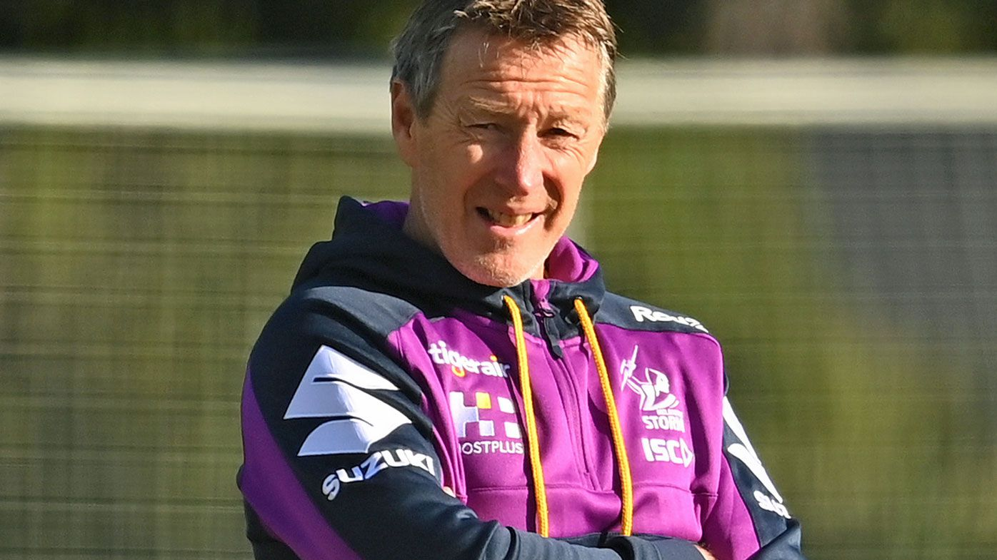 Craig Bellamy the coach of the Storm
