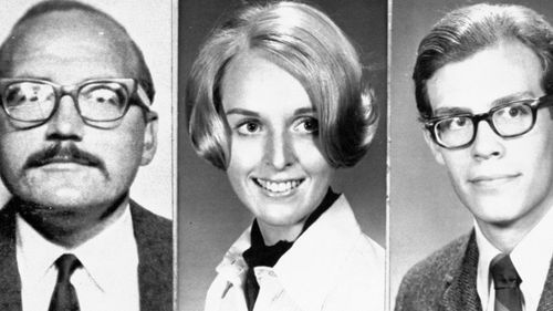 Zodic killer victims San Francisco cab driver Paul Stine, Cecilia Shepard, 22, a student  and Bryan Hartnell, 20, who was stabbed but lived