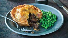 Kangaroo, mushroom and dark ale pies