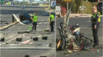 Drugs, alcohol and speed blamed for crash that ripped car in half