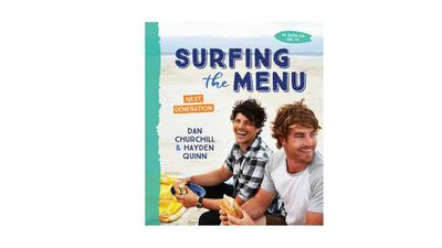 "<a href=""http://www.simonandschuster.com.au/books/Surfing-the-Menu/Dan-Churchill/9781925368345"" target=""_top"">Surfing the Menu</a><br> By Dan Churchill and Hayden Quinn<br> Simon & Schuster, $49.99"