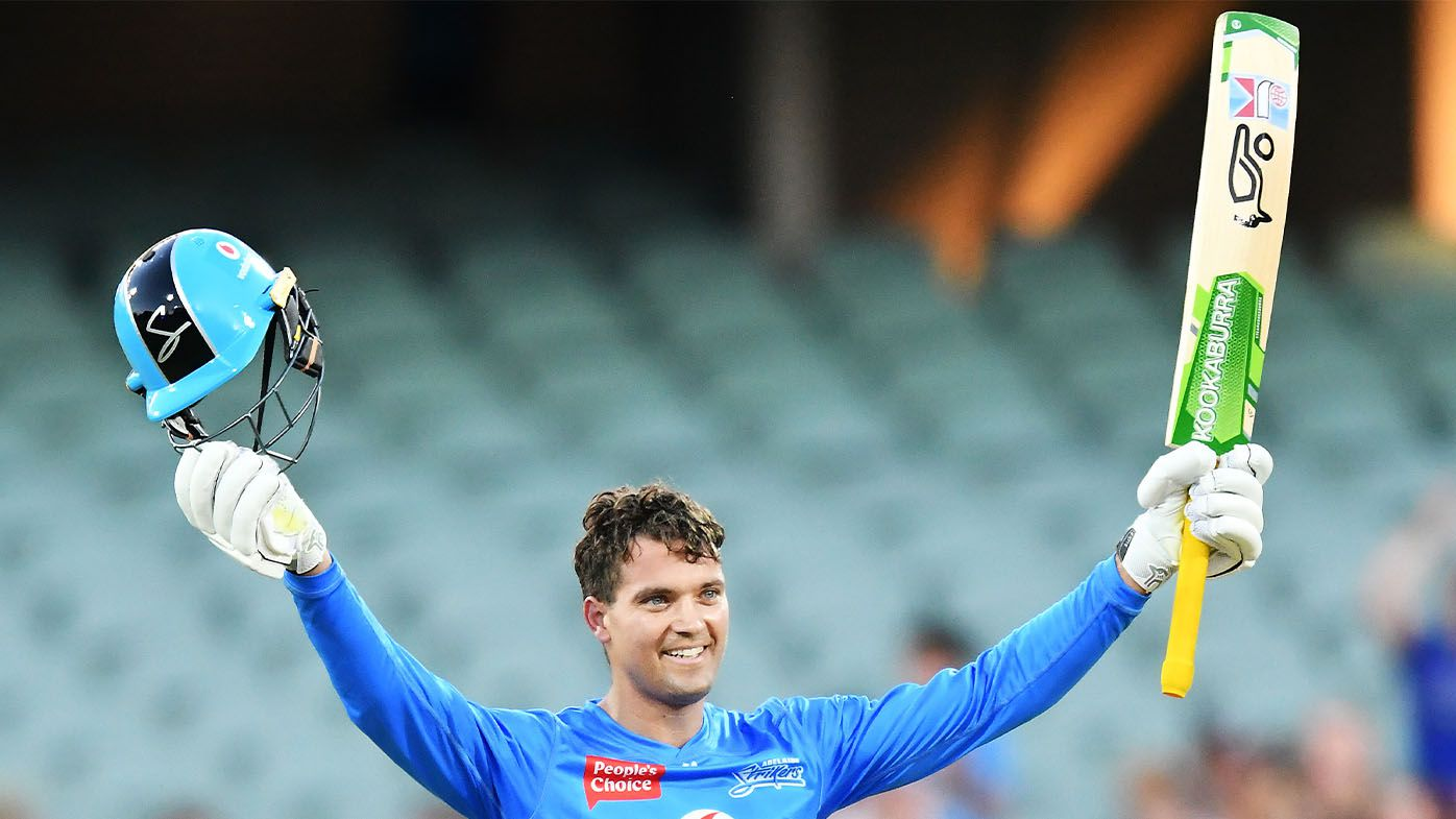 Adelaide Strikers star Alex Carey hammers first century of BBL summer, teammate Michael Neser ices massive win with incredible catch