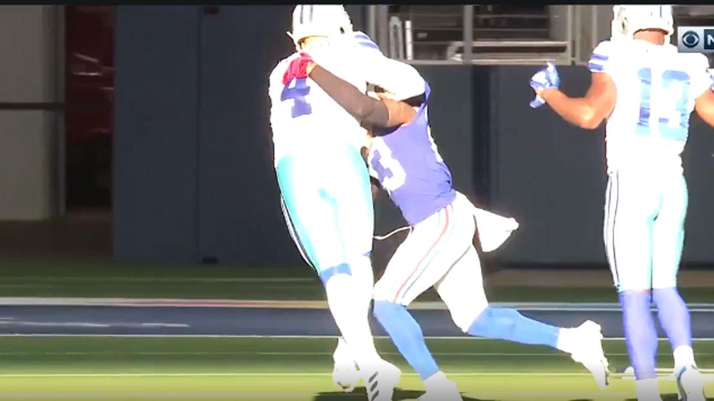 'Gruesome': Dallas Cowboys quarterback Dak Prescott suffers horrific leg injury