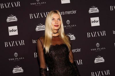 Jess Hart at the Harper ICONS Party at The Plaza Hotel, New York Fashion Week