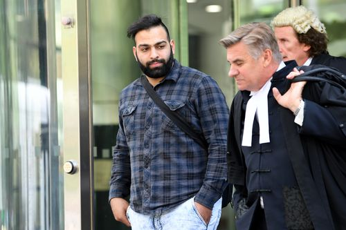 Arpaci pleaded not guilty over the fatal crash but a Victorian County Court jury found him guilty of two counts of culpable driving causing death.(AAP)