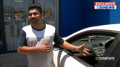 Restaurant owners are also being affected by the violence - Roy Chacko, has had his car broken into twice in as many months