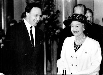 Paul Keating & Queen Elizabeth