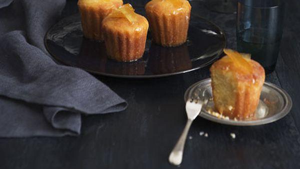 Sugared citrus cakes