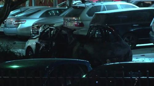 The 15-year-old boy was walking past the car at the time of the explosion. (9NEWS)