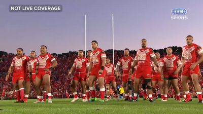 Andrew Fifita lead stirring Tongan war cry before Test against Kangaroos