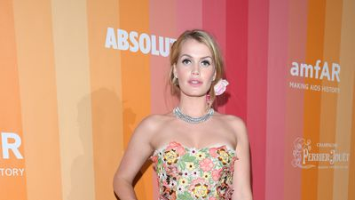 Lady Kitty Spencer leads the glamour at amfAR gala