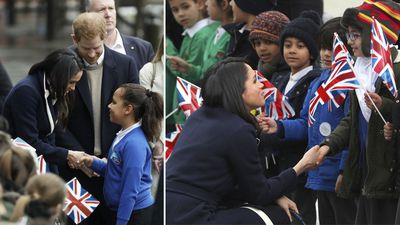 Meghan marks International Women's Day by encouraging young girls, 2018