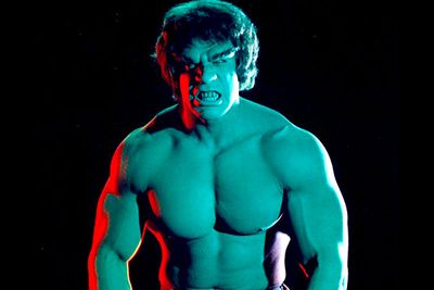 If you happen to have a fetish for both green skin and huge muscles, you would've loved the '70s version of <i>The Incredible Hulk</i>, starring <b>Lou Ferrigno</b> as the titular superhero.