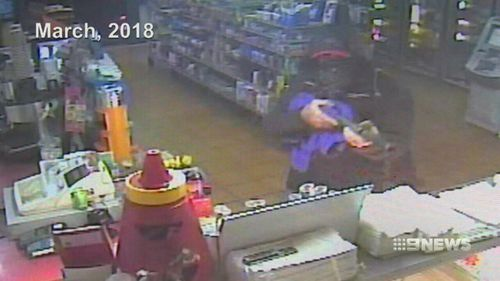 Police allege the man is linked to two armed robberies.