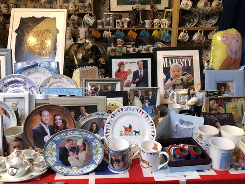 Her collection has grown over the years, particularly since her children have moved out.