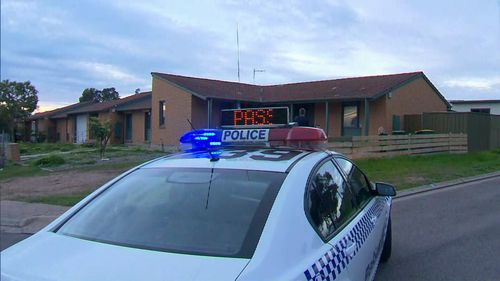 A 57-year-old woman has been stabbed in the neck at a home in Para Vista. (9NEWS)