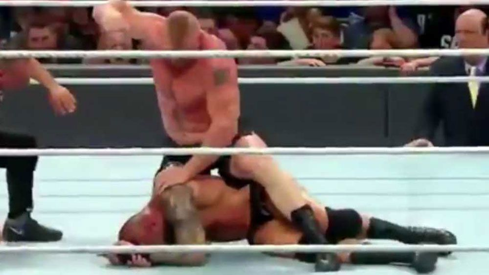 Is this the moment wrestling got real?