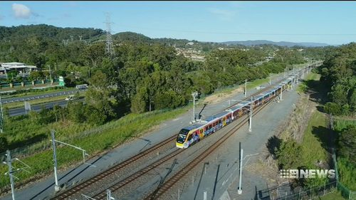 The expenses from Queensland's state rail services are costing it huge money. Picture: 9NEWS.