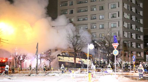 More than 40 people have been injured, one seriously, after a blast tore through a restaurant in northern Japan.