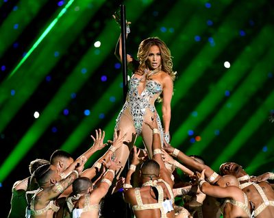 The JLo show