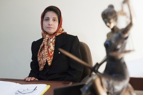 Iranian human rights lawyer Nasrin Sotoudeh has been convicted and faces years in prison for her activist work and helping women.