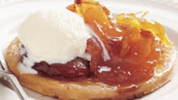 Maggie Beer's Barossa dried peach and pear tarts