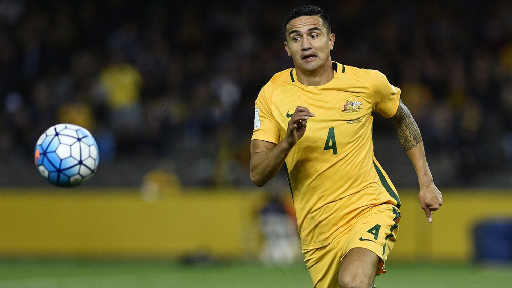 Tim Cahill said there is no need for panic. (AAP)