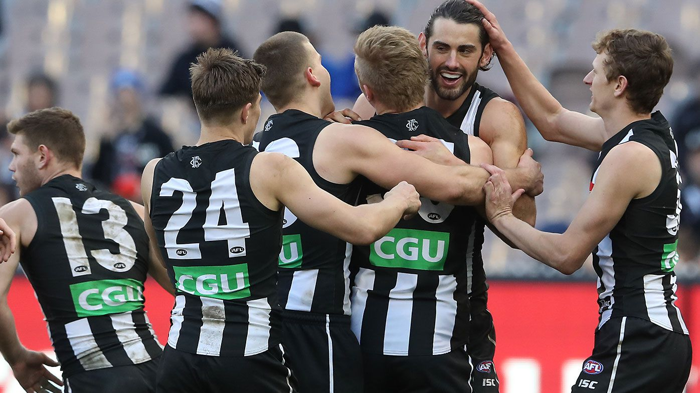 Seven-goal final term leads Collingwood to Port Adelaide rout