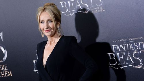 Harry Potter creator J.K. Rowling at the US premier of  'Fantastic Beats and Where to Find Them'. (Getty)