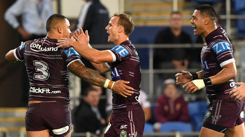 Nate Myles injured in Manly win over Titans