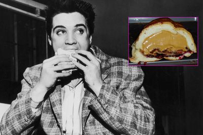 Elvis really, really liked his sambos. In '76 he and his entourage flew from Memphis to Denver to eat a 'Fool's Gold Loaf'- a hollowed loaf of bread filled with a jar of peanut butter, a jar of jelly and a pound of bacon. Sounds…nice…