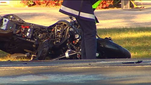 Motorcyclist dies in collision with car