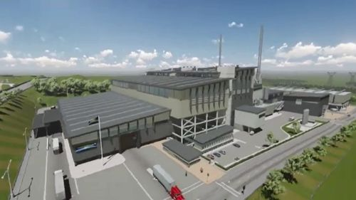 Plans for the incinerator are set to be scrapped. (9NEWS)